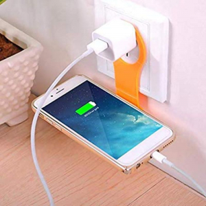 Generic Mobile Charger Stand (Yellow)