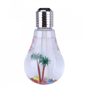 Generic Air Freshener Bulb Humidifier With LED Night Light (Color: Assorted)